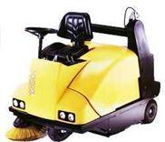 德国驾驶式扫地车,清扫车-尘箱带液压升降装置