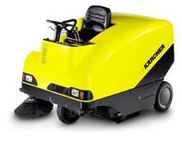 德国驾驶式扫地车,清扫车-无级变速液压牵引驱动