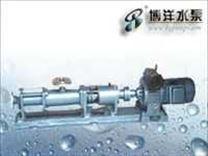 G型单螺杆泵(配无级调速电机)