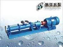 FG型整体不锈钢螺杆泵