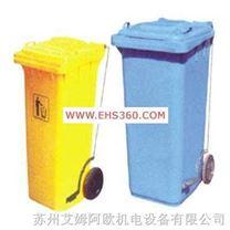 苏州MRO两轮移动脚踏式垃圾箱2
