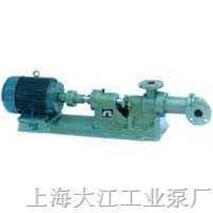 上海单螺杆浓浆泵