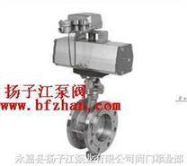 气动阀门:KVD643F/H型气动法兰式蝶阀