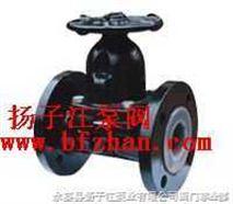 隔膜阀:往复型无手操型拨动隔膜阀