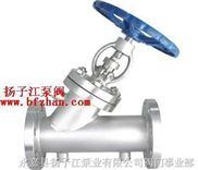 保温阀:BJ45H/W保温夹套直流式截止阀