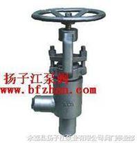 截止阀:J64Y焊接型角式截止阀