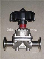 衛生級不鏽鋼手動隔膜閥