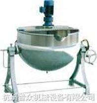 可倾带搅拌夹层锅(蒸煮锅)-杭州普众机械