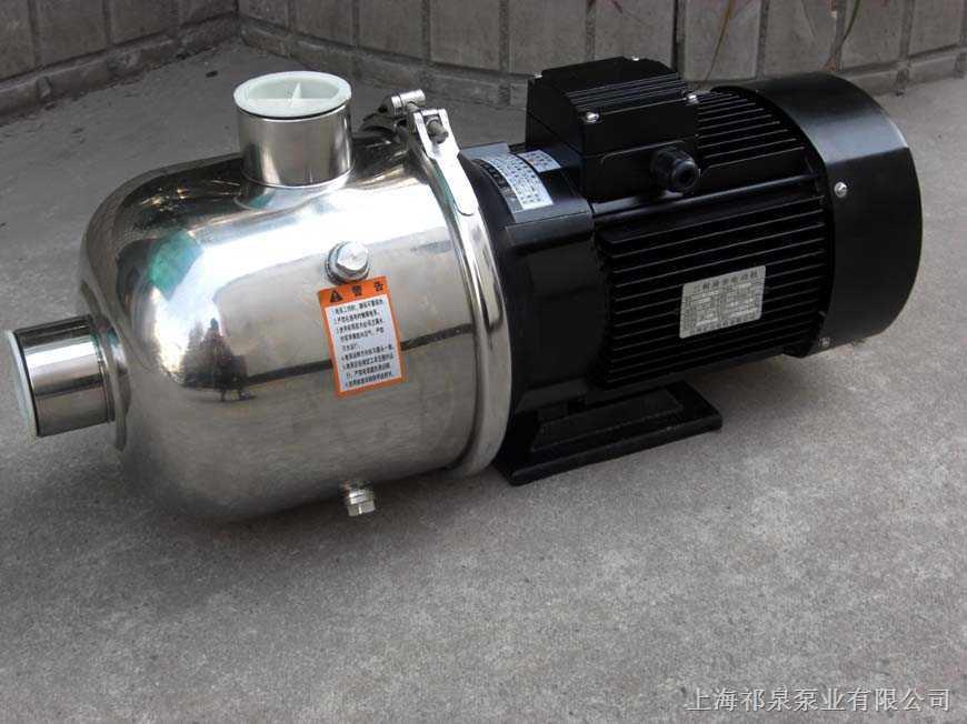 多级离心泵型号_轻型不锈钢卧式多级离心泵QDWF2-60-上海本泉泵业有限公司