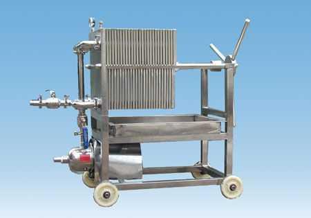 不锈钢压滤机 板框过滤器 不锈钢过滤器 上海大张环保设备有限公司