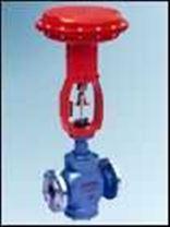气动薄膜直通单座调节阀