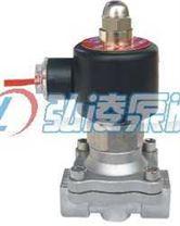 不锈钢系列<大口径><常开型>两口两位直动式电磁阀