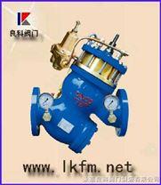 水力控製閥:YQ980012-LS200012型過濾活塞式可調減壓流量控製閥