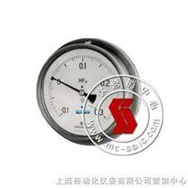 Y-B-不锈钢压力表-上海自动化仪表四厂