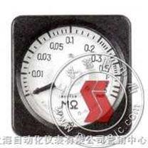 63C11-MΩ-广角度高阻表-上海船用仪表厂