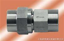 供應不鏽鋼直通內螺紋單向閥