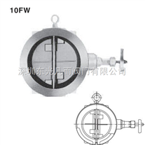 10FW  KITZ鑄鐵對夾式止回閥 日本北澤對夾止回閥
