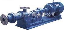 G型不锈钢浓浆单螺杆泵/螺杆水泵(普通 不锈钢)