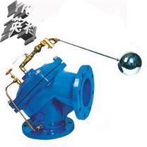 角式消聲水位控製閥