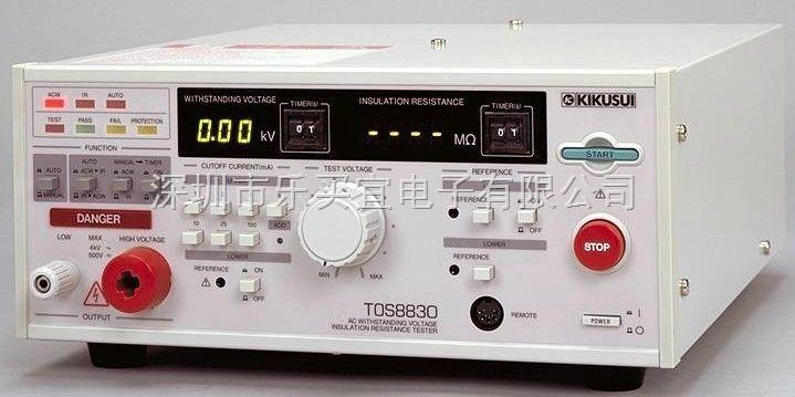 tos8830 耐压绝缘测试仪