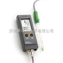 哈納HANNA HI99121N便攜式土壤pH/溫度測定儀