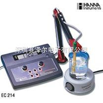 哈納HANNA EC214實驗室台式電導率測定儀 EC214電導儀