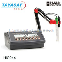 HI2214實驗室記錄型pH/ORP/℃測量儀