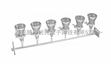 (热卖 现货供应)六联不锈钢溶液过滤器/多联溶液过滤器/六联溶液过滤器/实验室过滤器/薄膜过滤器