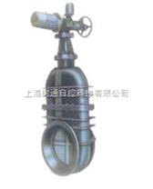 鑄鐵電動暗杆楔式閘閥|電動閘閥|楔式電動閘閥