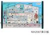 供应 MA2067 建筑电气安装测试教学演示板